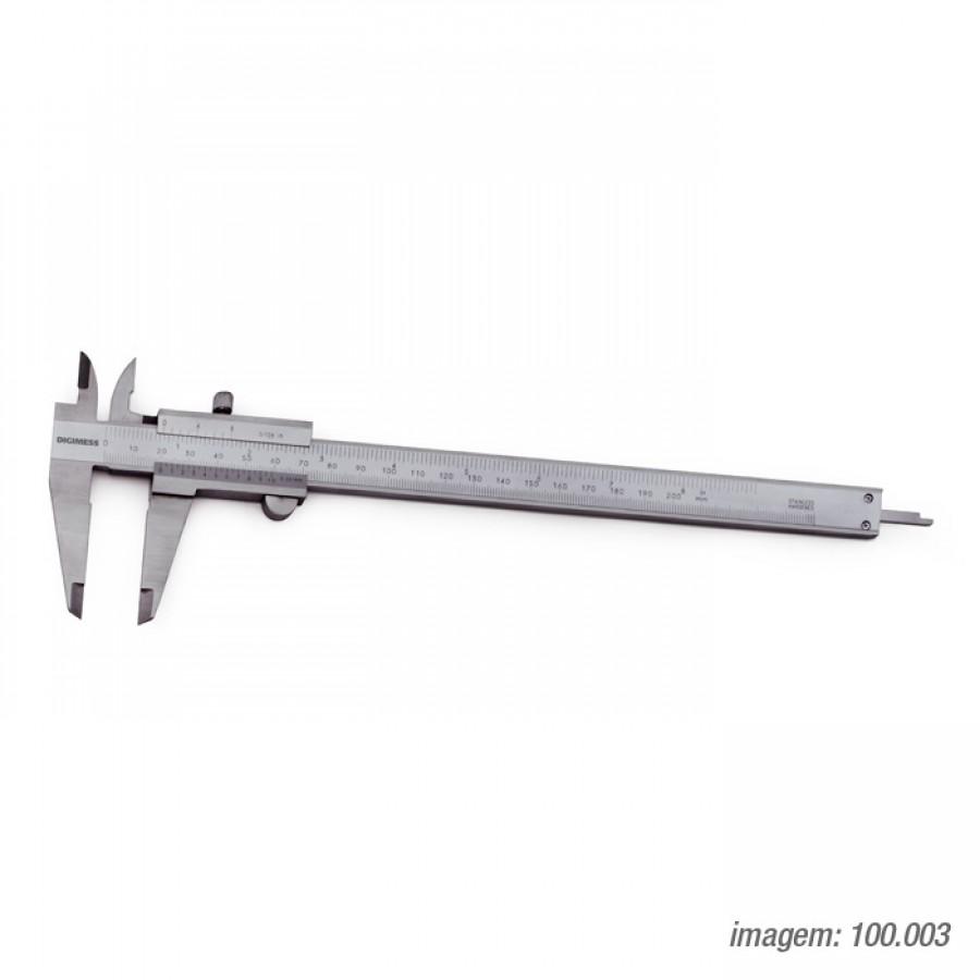 Paquímetro universal Digimess 200mm res. 0,05mmc/ certificado RBC