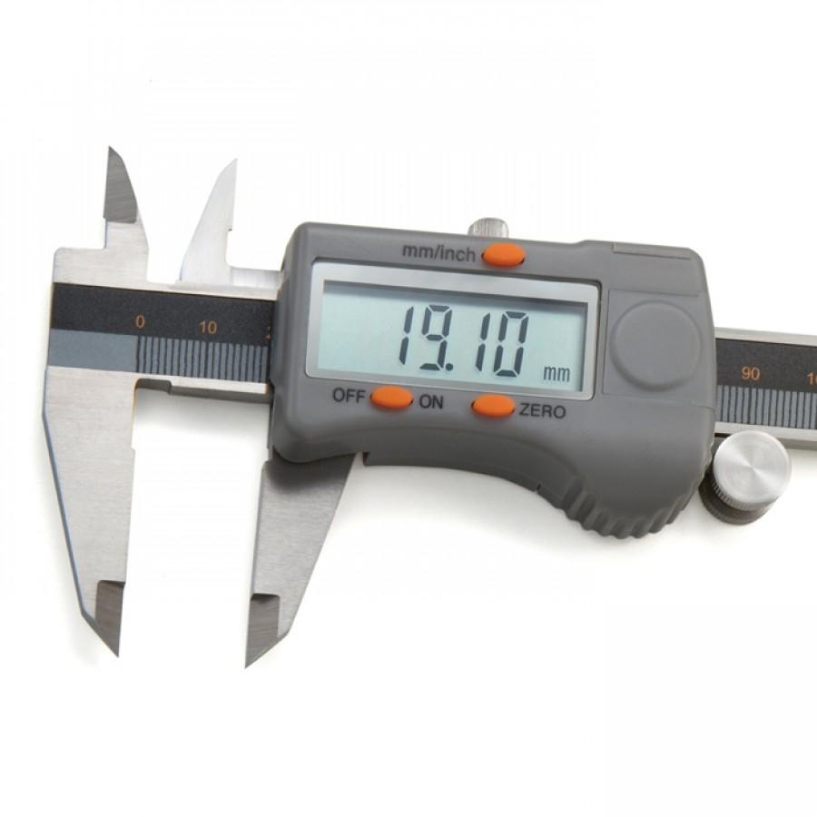 Paquímetro digital Digimess 150mm c/ certificado RBC código 100.174BL