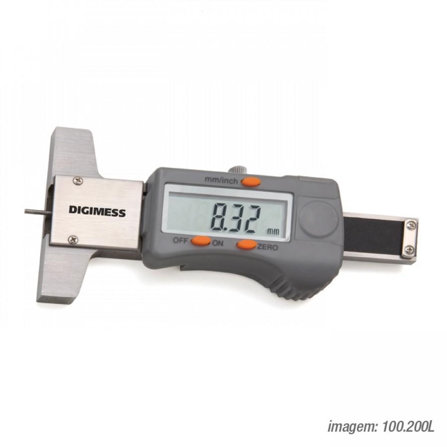 Paquímetro digital de Profundidade de Sulcos de Pneus c/ certificado de calibração RBC