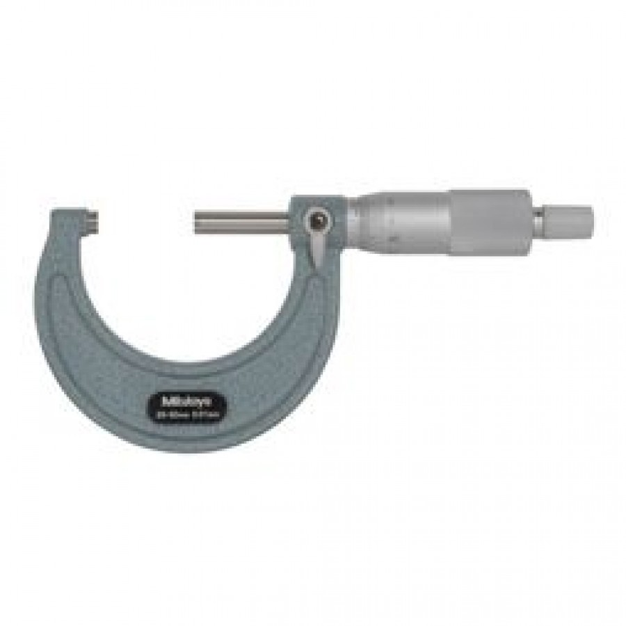 Micrômetro Mitutoyo 25-50mm 0,01mm c/ Certificado RBC