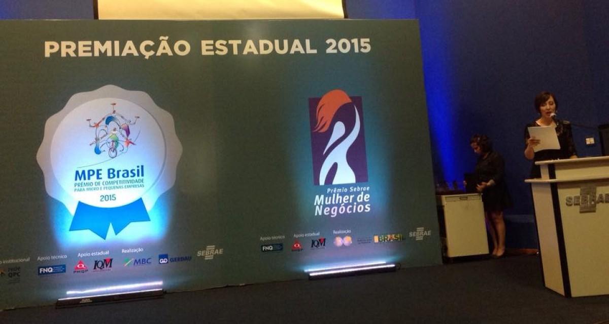 Vencedora do MPE BRASIL etapa Estadual 2015