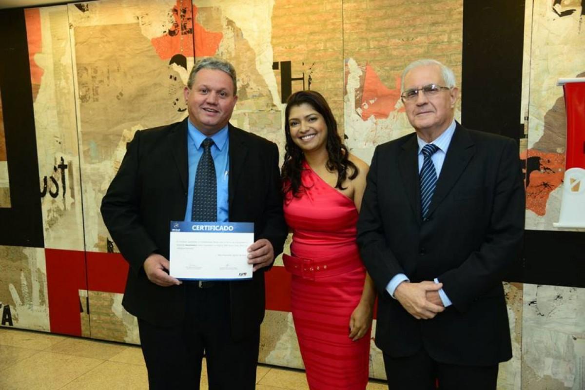 A Excelmetro foi homenageada no Prêmio Mineiro de Qualidade pela conquista do Prêmio MPE BRASIL 20
