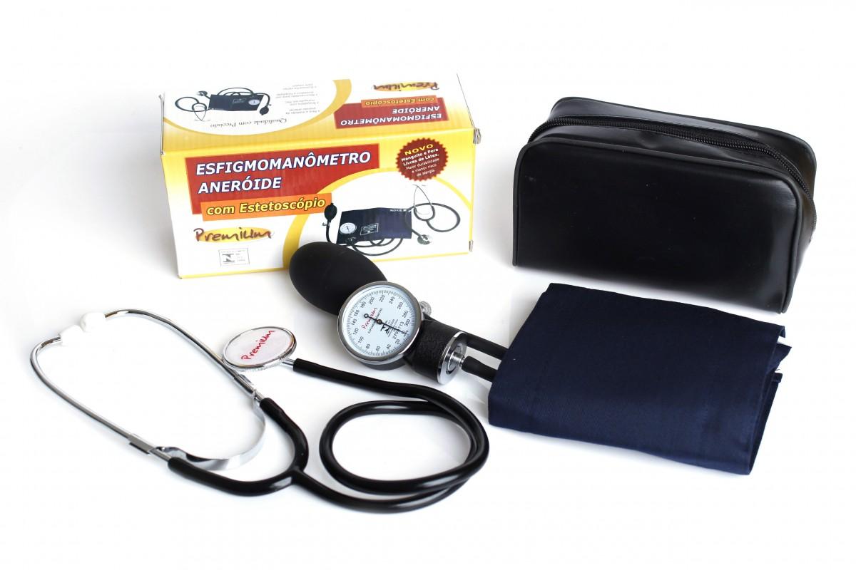 Medidor de Pressão Arterial Humana com certificado RBC para o manômetro