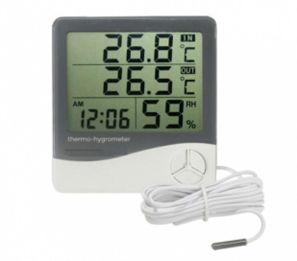 Termo-higrômetro Incoterm c/ Certificado de Calibração RBC